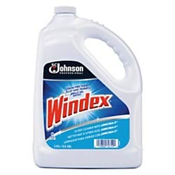 Windex 682252EA Powerized Formula Glass & Surface Cleaner, 1gal ()