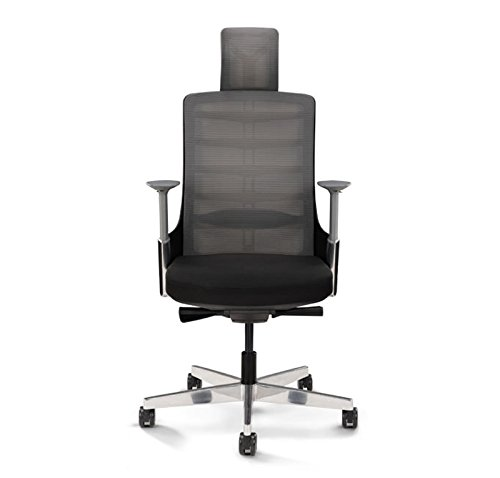 UPLIFT Desk - Vert Ergonomic Office Chair (Black)
