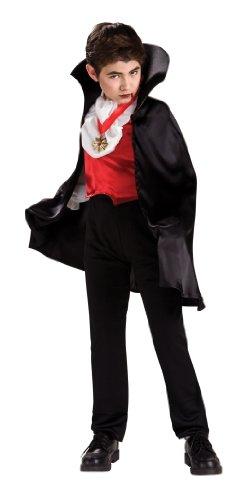 Vampire De Costume D'halloween (Transylvanian Vampire Costume With Short Cape)
