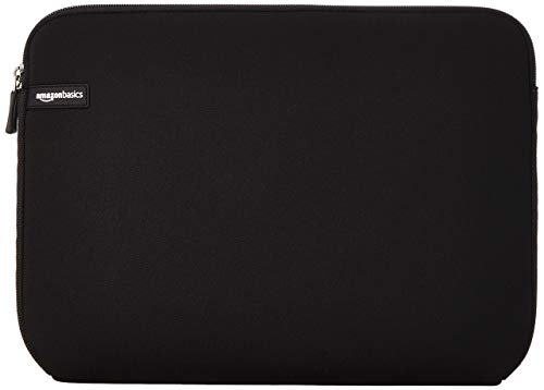 AmazonBasics 14-Inch Laptop Sleeve - Black (Laptops Sleeve Case)