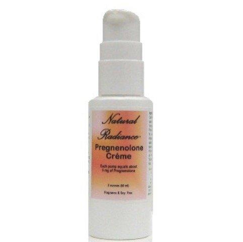 Eclat Naturel prégnénolone Bio identiques Creme précurseur de beaucoup d'autres hormones, non parfumé, 2 once