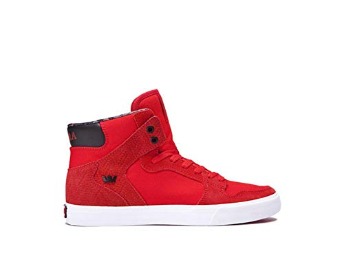 Sportive Sneakers Rot S28058 Unisex Supra VAIDER weiß Erwachsene PX5wIn