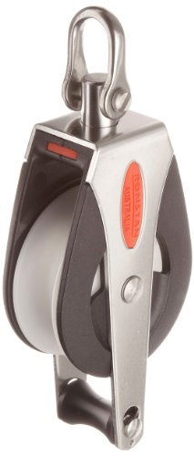 Head Becket Block - RONSTAN RF51110 Series 50 AP Block Universal Head Single Pulley Becket, 3310 Lbs Load Capacity, 2