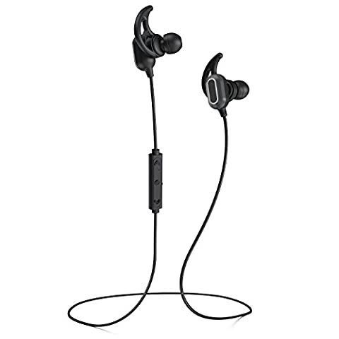 Phaiser BHS-760 Bluetooth Headphones, Magnetic Wireless Sport Headset for Running, Sweatproof Cordless Earphones with Mic for Working Out, Comfortable Wireless Earbuds for Exercise, (Bling Bluetooth Headset)