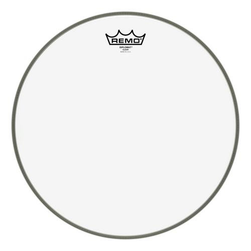Drum Bottom Head Snare Clear (Remo BD0314-00 Clear Diplomat Drum Head - 14-Inch)