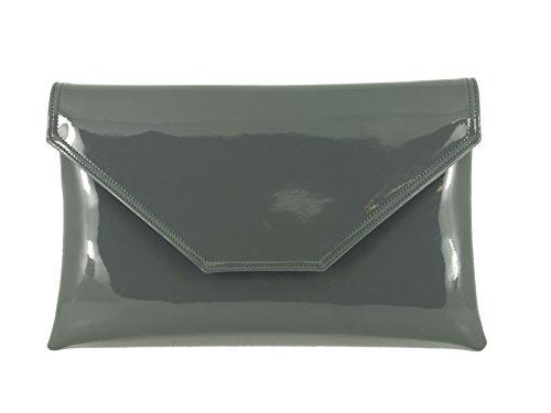 Pochette Grey LONI Charcoal femme LONI Pochette wpqPv