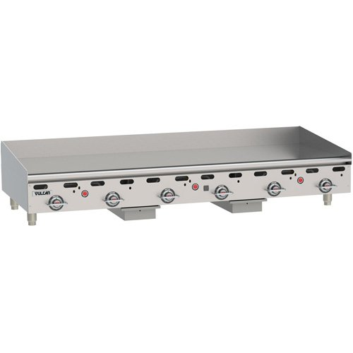 Vulcan Griddle Gas (Vulcan MSA72-2 Vulcan Commercial Gas Griddle - Heavy Duty Griddle - 70
