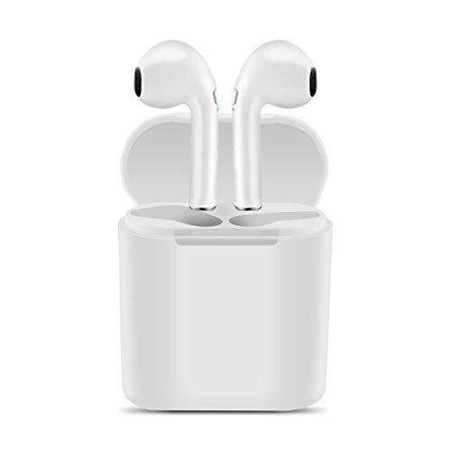 littlejian Bluetooth Headphones,Wireless Workout Sport Running Earbuds,Bass HiFi Stereo in-Ear Earphones with Case, Long Hrs Playback, Noise Cancelling Microphone