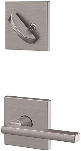 (Schlage FC59LAT626COL Custom Latitude Single Cylinder Sectional Interior Pack with Collins Rose)
