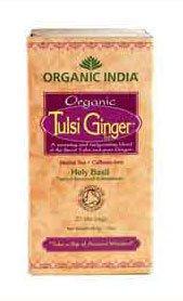 Cheap Tulsi Ginger Tea Organic India Stress Relieving, Uplifting Caffeine Free Antioxidant Rich100g