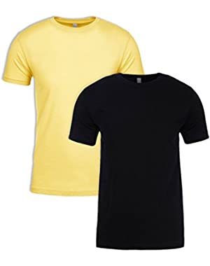 N6210 Shirt, Black + Banana Cream (2 Pack), XXX-Large