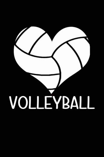 Volleyball: Volleyball Blank Lined Journal, Volleyball Notebook for ()