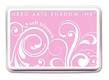 Hero Arts Rubber Stamps Shadow Ink, Soft Blossom (Arts Hero Blossom)