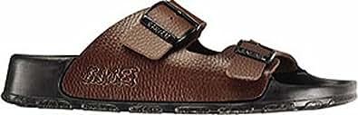 Birki's Men's Haiti Birko-Flor Sandals,Basic Brown,44 M EU