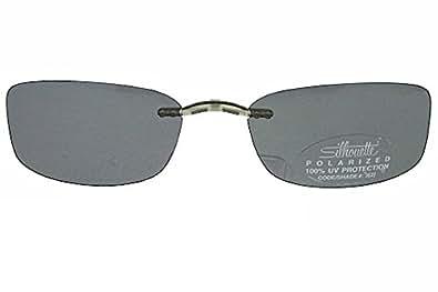 Amazon Com Silhouette Titan Next Generation Iii 5065 Polarized Gray Clip On Shape 6601 Size 52