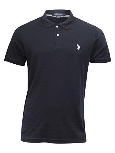 U.S. Polo Assn. Mens Classic Small Logo Interlock Polo Shirt