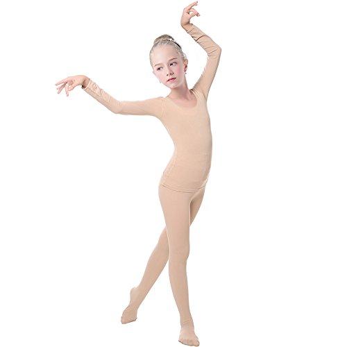 embiofuels (TM) Niñas Niños Ropa Interior desnuda de ballet Danza subcoating niños piel baile ropa & Nude Ballet medias medias: Amazon.es: Hogar