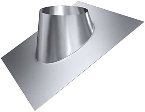 DW 80 Edelstahl gl/änzend Keine Farbe w/ählbar Lochdurchmesser 160 mm Edelstahl Z o.o Schornstein MK sp Dachdurchf/ührung 20/°-35/°