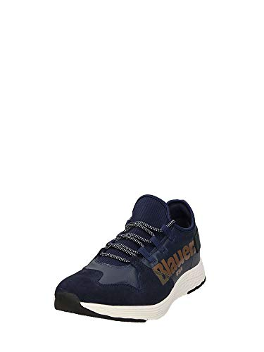 Sneakers 43 Bassa Blu Blauer 8FMIAMI03 Uomo 0nF4xRq
