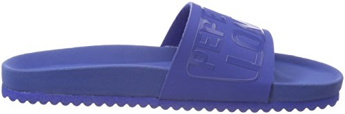 Pepe Jeans London Jungen Bio Royal Block B Pantoletten Blau (Electric Blu)