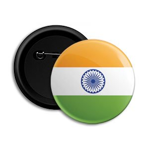 Buy Indian Flag Independence Day Round Pin Button Badge Dot Badges Online At Low Prices In India Amazon In