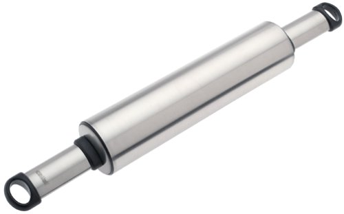 Hoffritz Stainless Steel Hanging Rolling Pin
