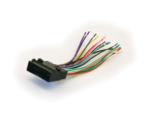 313WCE5V%2BAL amazon com scosche ha10b wire harness to connect an aftermarket scosche wiring harness diagram honda at soozxer.org