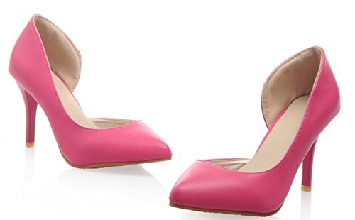 YCMDM Nuovo singolo SCARPE DONNA sandali degli alti talloni , red , 38