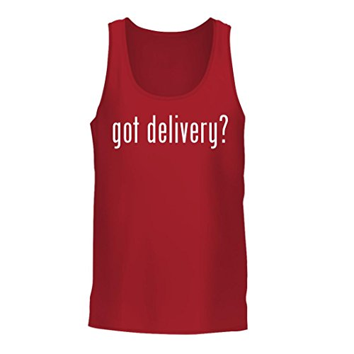 got delivery? - A Nice Men's Tank Top, Red, Large