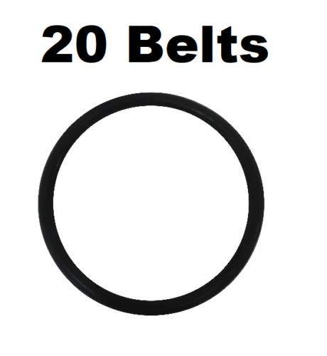 20 Round Belts for Eureka 30563B Sanitaire Oreck Kent Powrflite Koblenz Perfect