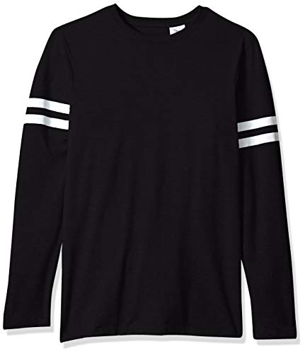 Tee with Long Sleeves, Black, Medium ()