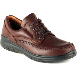 ECCO Mens SeaWalker Tie Rust Leather Oxford 47 (US Mens 1...