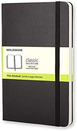 Moleskine Classic Notebook, Hard Cover, Large (5