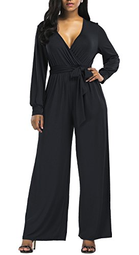 plus size black pant suit - 8