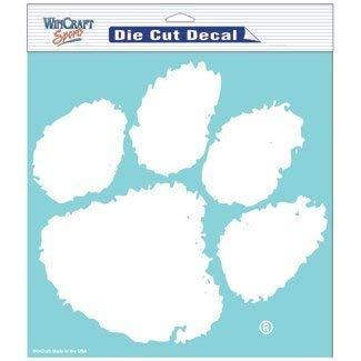 NCAA Clemson Tigers 8 X 8 Die Cut Decal