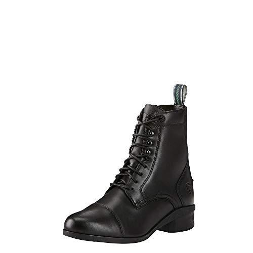 Ariat Women's Heritage IV English Paddock Boot, Black, 7.5 B US