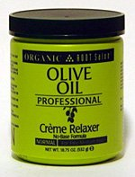 Organic Root Stimulator Olive Oil Professional Creme Relaxer, Normal Strength, 18.75 Ounce -