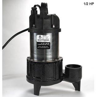 Little Giant 3/4hp Solids-Handling 4900gph Pump