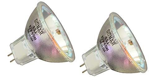 2pcs ESJ 82V 85W Donar Bulb RM-118 for BESELER 67-ENLARGER 23-C-2 DUAL-DICHRO Enlarger 23-CVC 35 DICHRO Enlarger 67-XLD - GE 11698 99350 – MEOPTA Color Head 4-ES Enlarger Maginfax 4 ES Lamp