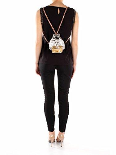 Tasche Rucksack Moschino Damen Leder Silber, Gold uns Bronze A743780031606 Silber 9.5x15x15 cm