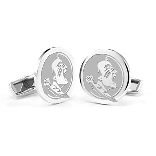 M. LA HART Florida State University Cufflinks in Sterling Silver ()