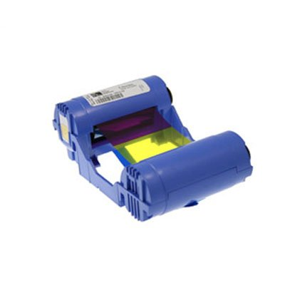 Zebra Color Ribbon Thermal Transfer Dye Sublimation - 200 Page - YMCKO - FOR P110I P120I (P110i Zebra Id Card)