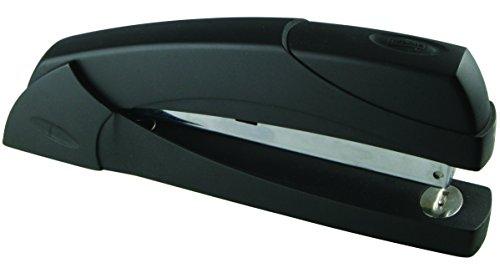 Full Strip Executive Desktop Stapler (Staples? Executive Desktop Full Strip Stapler Combo Pack, 20 Sheet Capacity, Black)