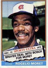 Amazoncom 1976 Topps Traded Baseball Card42 632t Rogelio Moret