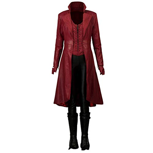 CosFantasy Wanda Maximoff Scarlet Witch Cosplay Costume mp003262