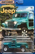 Willys Truck - MATCHBOX LIMITED EDITION JEEP ANNIVERSARY EDITION JEEP WILLYS 4X4 DIE-CAST