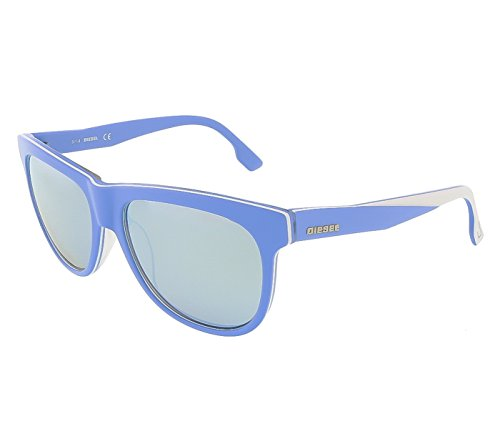 Diesel Sunglasses DL0112 86C Blue & White Grey - Sunglasses Diesel White