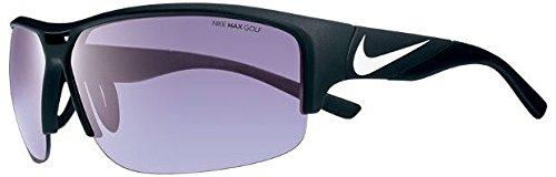 Nike EV0871-010 Golf X2 E Sunglasses (One Size), Matte Black/White, Max Golf Tint - Sunglasses White Nike