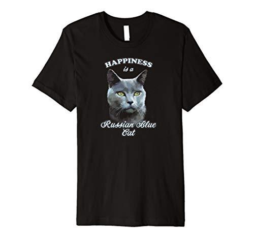 - Cute grey cat t-shirt