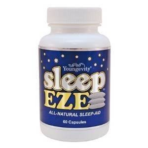Sleep EZE Herbal Sleep Aid - 60 Capsules - 2 Pack by YNG (Image #3)